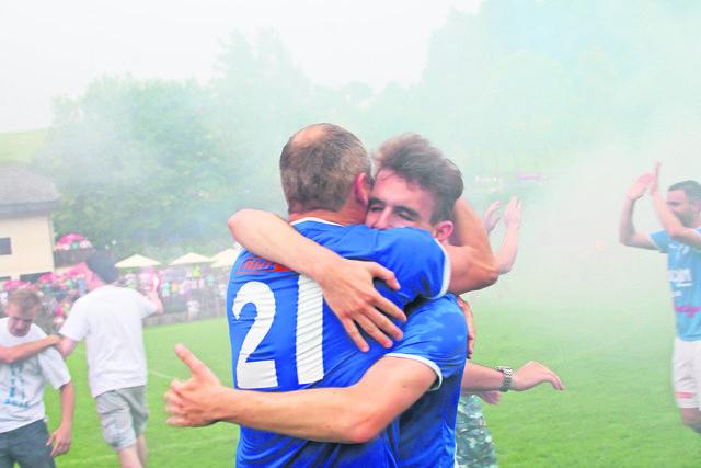 2015 feierten die Kicker des Tsv St. Georgen an der Gusen den Bezirksliga-Meistertitel.