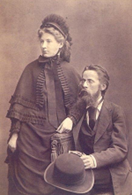 Elisabeth und Heinrich von Herzogenberg