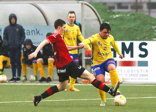 DSC-Urgestein Philip Leitinger gab nach vielen Verletzungen sein Comeback bei der zweiten Mannschaft.