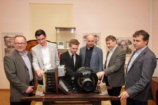 V.l.: Josef Hierz, Eduard Soran, Christoph Winkler, Heinz Zorn, Gottfried Purkarthofer, Harald Macher