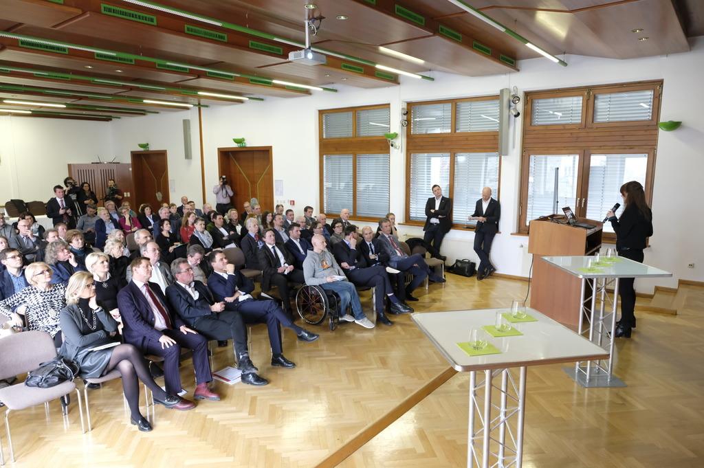 """Start des Projektes """"Start-up Cityregion"""" in der Brucker Wirtschaftskammer."""