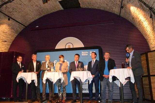 Am 22. April wird in Salzburg gewählt – vergangene Woche stellten sich die Parteien den Fragen des Stadtblatts.