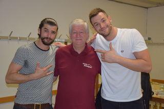 Freuen sich über drei ausverkaufte Shows: Otto Jaus, Peter Krasser und Paul Pizzera.