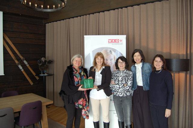 Camilla Köll, Elisabeth Greiderer, Monika Maier, Michaela Außerdorfer und Claudia Waldner