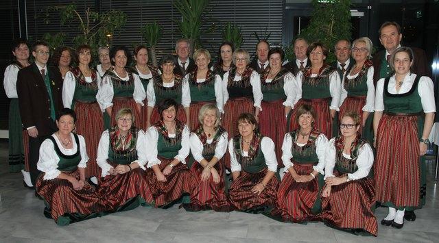 Derzeit hat der Singkreis Völkermarkt 34 Mitglieder