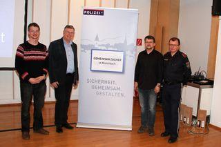Markus Welzl, Herbert Eidelpes, Werner Palierer, Franz Schreiber.