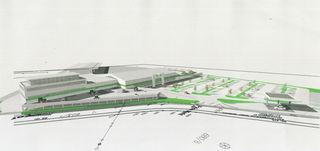 Das neue Lagerhaus Graz-Land wird auf den ÖDK-Flächen in Voitsberg errichtet.
