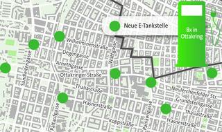 Bessere Infrastruktur: Im 16. Bezirk entstehen acht Ladestationen für E-Autos, aber auch E-Bikes.