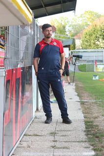 Vorwärts-Trainer Gerald Scheiblehner