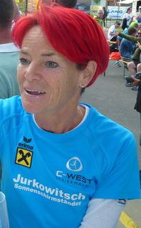 Karoline Dohr lief den Halbmarathon in Leitersdorf in 1:31 Stunden.