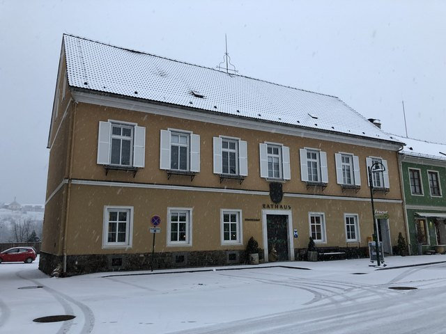 In der Nacht von Freitag auf Samstag ist in das Gemeindeamt von Eibiswald eingebrochen worden.