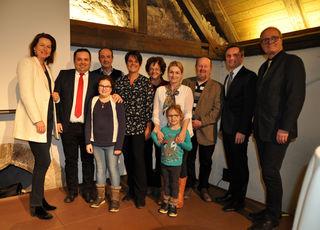 Die Angelobung durch Bürgermeisterin Elisabeth Paruta-Teufer ließ sich die Familie von Dietmar Weinzinger (2.v.l.) nicht entgehen.