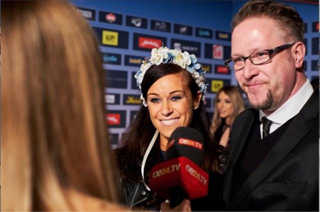 Catrin Neumayer mit ihrem neuen Kollegen Oliver Hoffinger