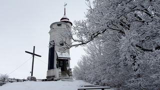 Winter Wonderland auf dem Blassenstein und das bei Frühlingsbeginn!