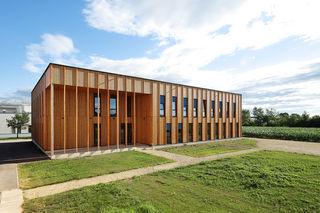Labor- und Bürogebäude IFA Tulln.
