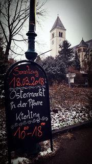 """""""Da es heuer in Kierling keine weißen Weihnachten gegeben hat, könnten es vielleicht weiße Ostern werden?!"""", meint unser Regionaut Hans Ludwig."""