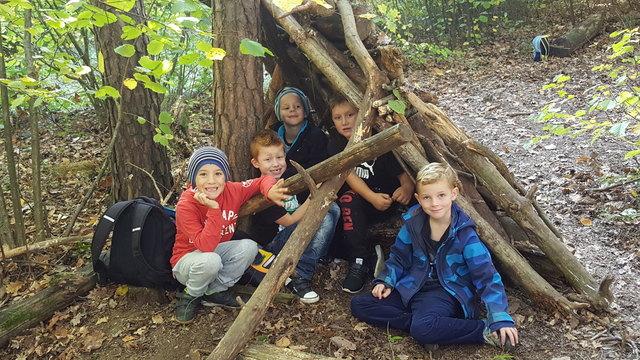 Das Thema Wald ist ein wichtiger Teil der Schwerpunktarbeit in der Volksschule Oberwart.