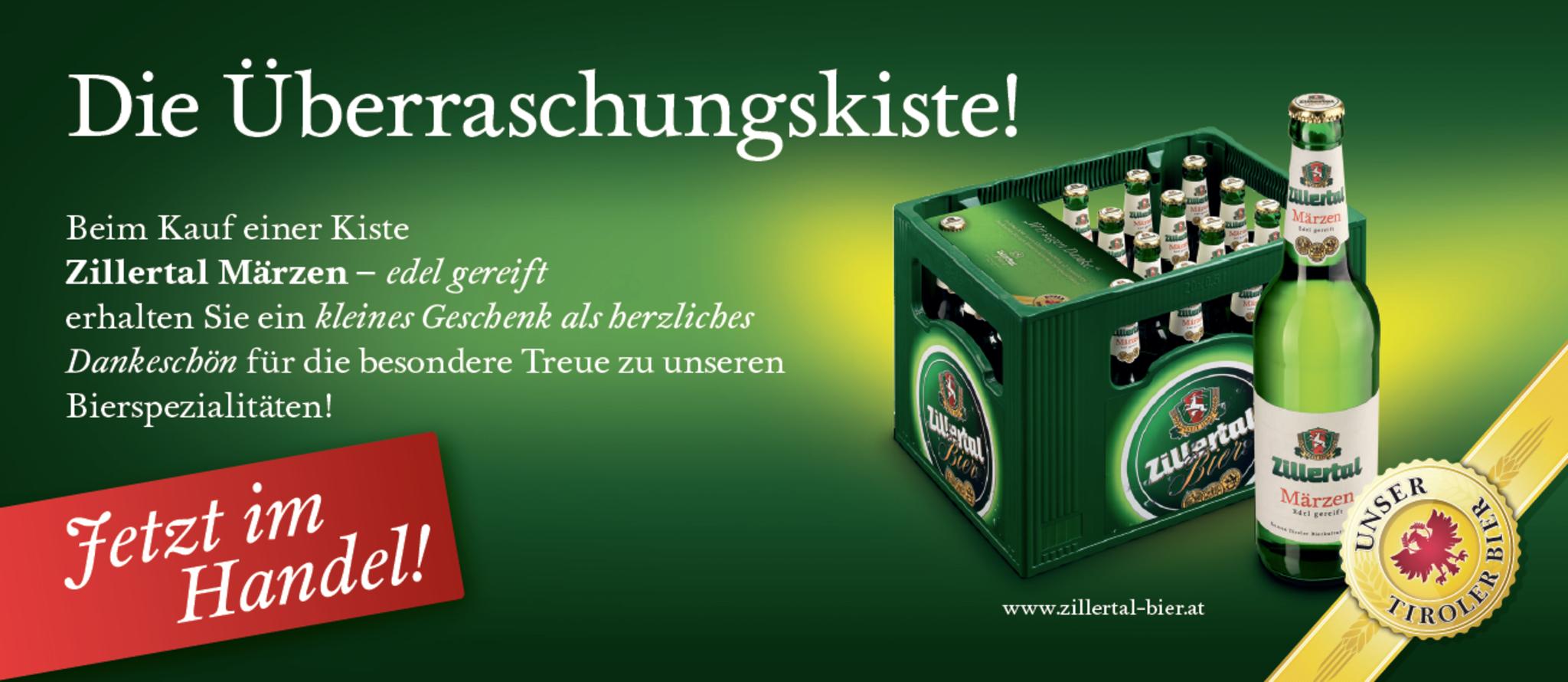 Jetzt Im Handel Die Uberraschungskiste Von Zillertal Bier Schwaz