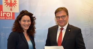 Schwarz-Grün II steht: Ingrid Felipe und Günther Platter gehen morgen in die Parteigremien