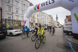"""Der """"Dachstein Rush"""" startet in der Stadt Wels."""
