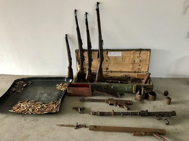 Diese Waffen stellte die Polizei sicher. Foto: LPD Steiermark