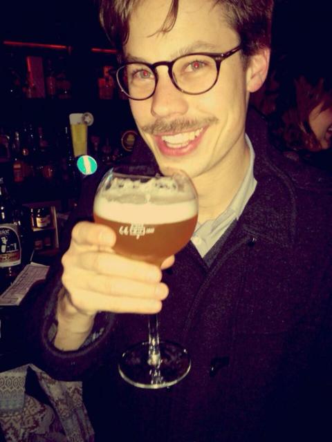 Belgien punktet auch bei Georg Haßlinger mit seinem Bier.