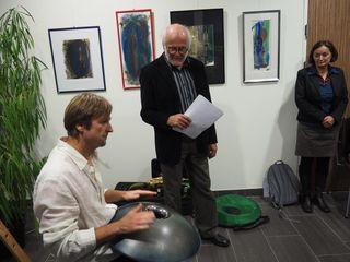 Von links: Wolfgang Weissengruber, Heinz Meyer und Mathilde Grussmann.