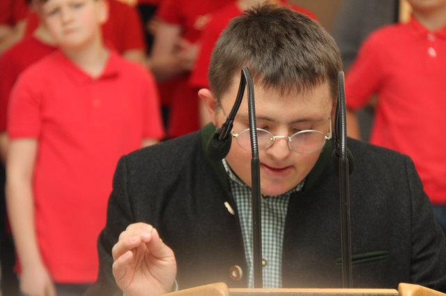 Michael Sebald übernahm die Moderation der Veranstaltung.