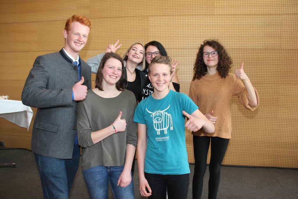 Für die SiegerInnen der Bezirksausscheidung wird es am  26. April in Innsbruck nochmals spannend.