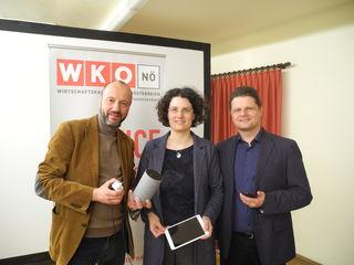Friedrich Oelschlägel, Sigrid Gramlinger-Moser, Bernhard Redl