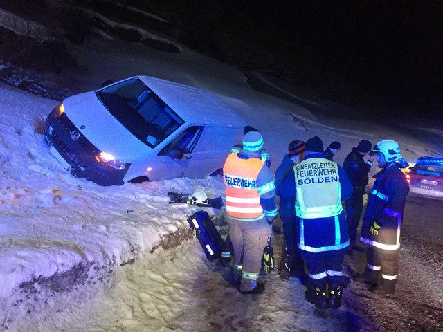 Sölden-Verkehrsunfall
