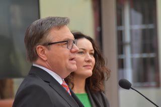 Präsentierten das Regierungsprogramm: LH Günther Platter und LHStv. Ingrid Felipe