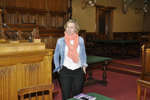 Brucker VP-Frauen besuchten das Wiener Rathaus.