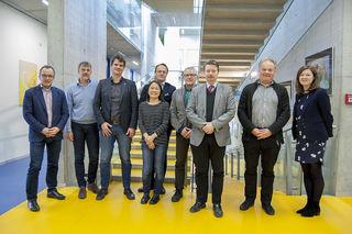 ASSCR-Gründungskomitee: Johann Bauer, Georg Dechant, Frank Edenhofer, Elly Tanaka, Markus Hengstschläger, Dirk Strunk, Peter Valent, Jürgen Knoblich, Katharina Günther.