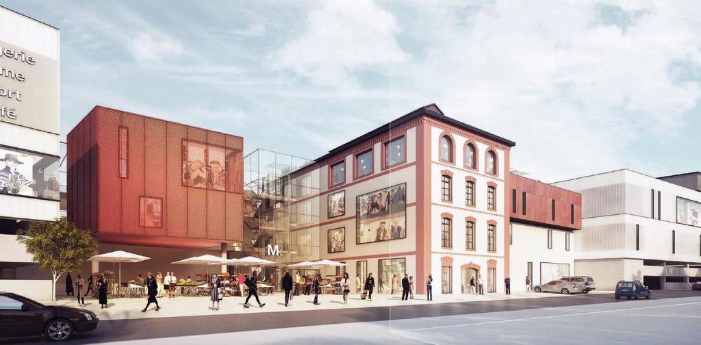 So könnte das Einkaufszentrum für die Stadt Mattighofen aussehen. Die Baukosten liegen zwischen 15 und 25 Millionen Euro.