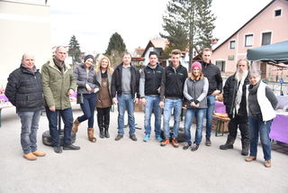 Die Aussteller beim Ostermarkt in Laßnitzthal