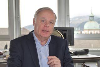 Werner Salzburger ist seit sechs Jahren Obmann der Tiroler Gebietskrankenkasse.