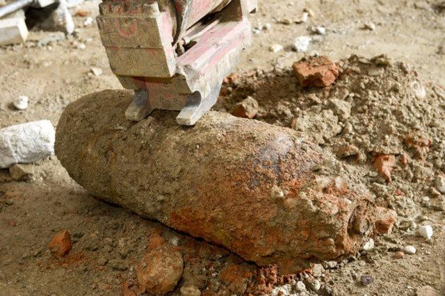 So ähnlich könnte die Bombe aussehen – diese Bombe wurde 2011 am Grazer Bahnhof gefunden.