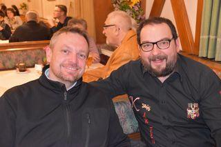 Klaus Koraschnigg und Paul Kuschnig (von links)