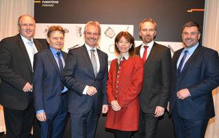 Alfred Pohl, Manfred Meixner, Karl Wilfing, Verena Sonnleitner, Peter Fritz und Franz Pieler