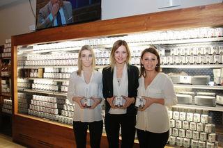 Big Power: Die Schwestern Klara, Laura und Katharina Habel (v.l.) befinden sich mit ihren Meat-Chips auf dem Erfolgsweg.