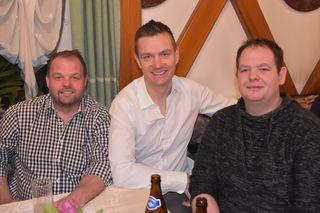 Michael Schippel, Markus Druml und Raphael Sander (von links)