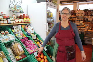 Heidi Michalke leitet den kleinen Genussladen.