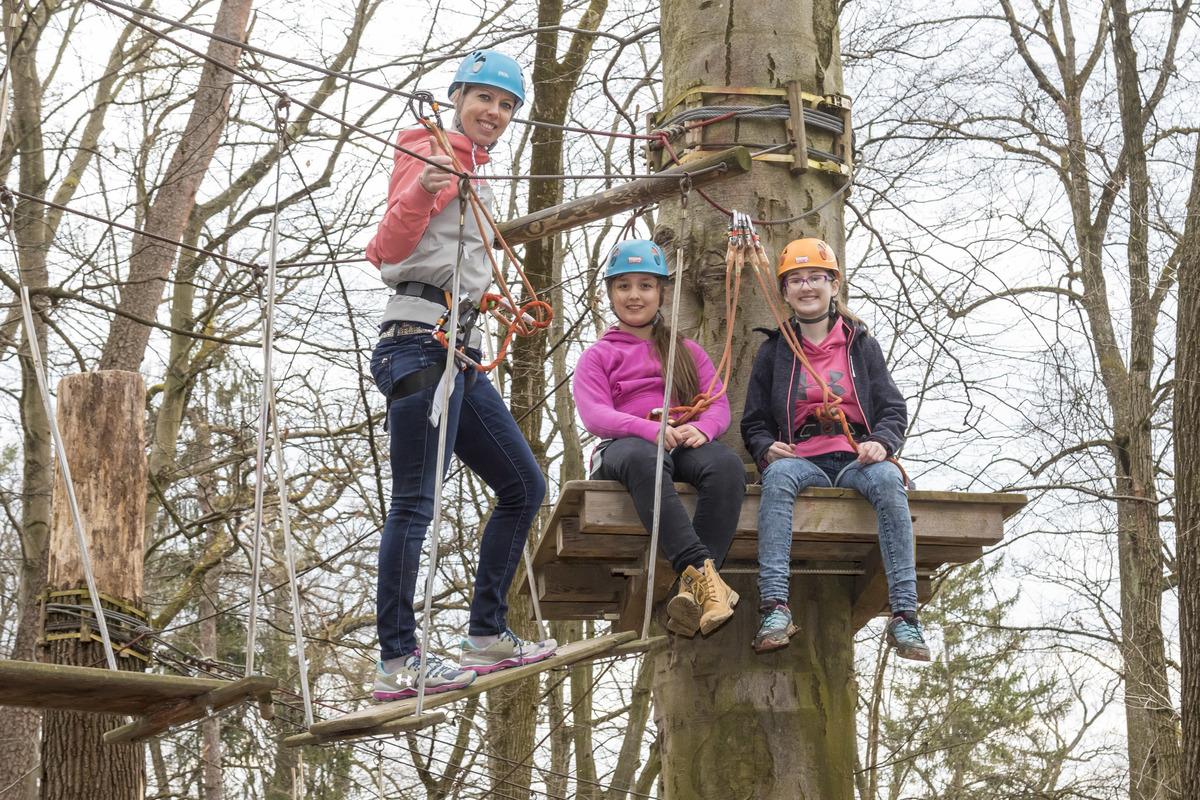 Kletterausrüstung Graz : Saisonstart im wiki adventure park graz