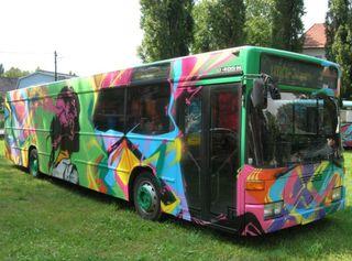 Mobiler Jugendraum in Passail, der WIKI-Jugendbus
