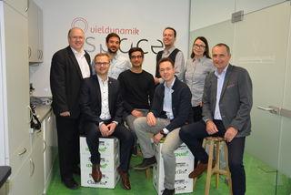 Alfred Pohl, Erich Stubenvoll, Wolfgang Pawlin, Gaston Larrain-Schiller, Manuel Bures, Gregor Sperk, Karin Opitz und Gerhard Supper