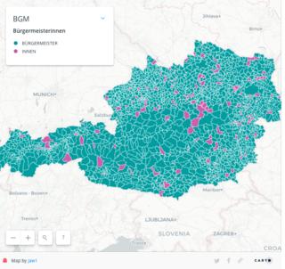 Karge Landschaft. Der Blick auf die Gemeindeoberhäupter Österreichs bestätigt ein ohnehin bekanntes Problem in politischen Ämtern.