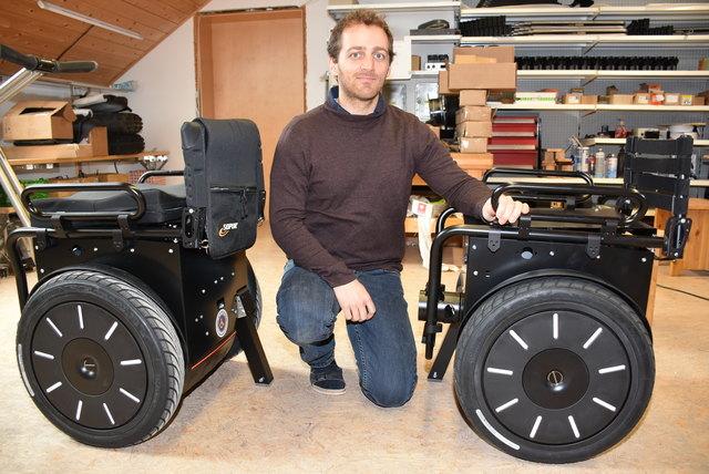 Lukas Rigler, Hoss Mobility GmbH.