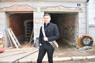"""Architekt Michael Steinwender setzt das Projekt """"Wohnen am Benediktinermarkt"""" um und plant dort in Absprache mit dem Eigentümer zusätzlich eine Plattform für die Klagenfurter Kreativwirtschaft"""