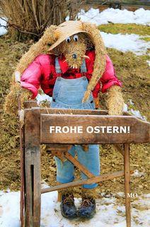 Frohe Ostern wünsche ich allen Leserlnnen, Regionautenlnnen und Mitarbeiterlnnen der BB, W, bz, BRS!